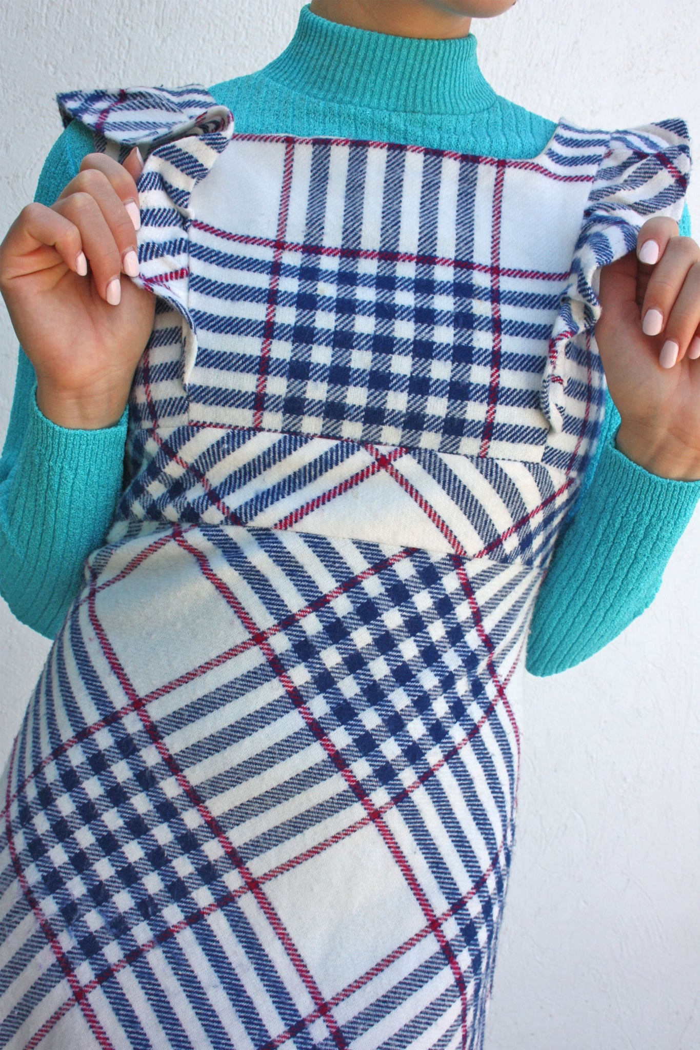Pinafore wool dress - Shop SoLovesVintage