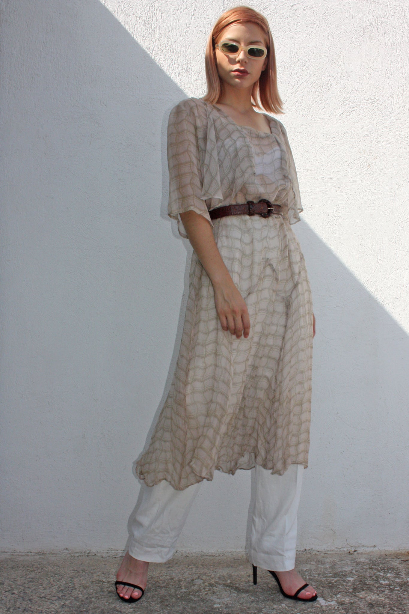 1930's vintage chiffon dress - Shop SoLovesVintage