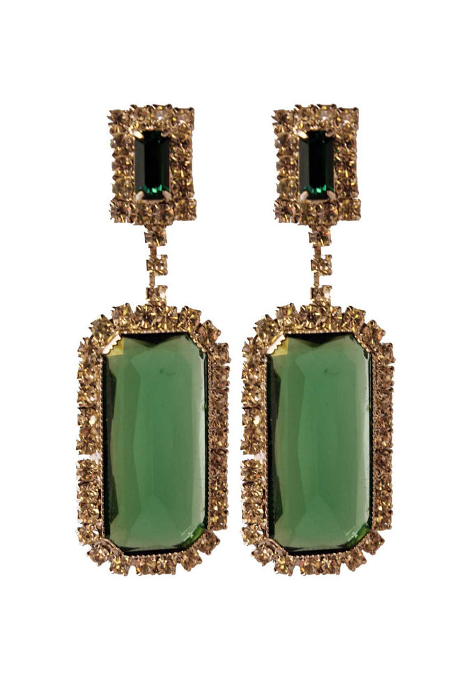 Vintage Amanda chandelier earrings