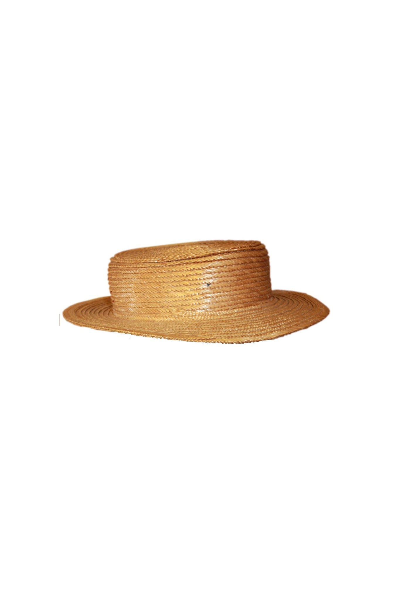 Vintage Boater straw hat