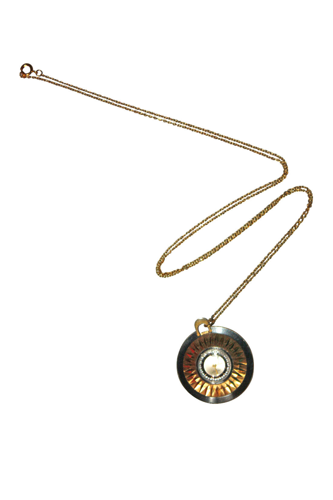 necklace clock locket products ariana ost crop lockit