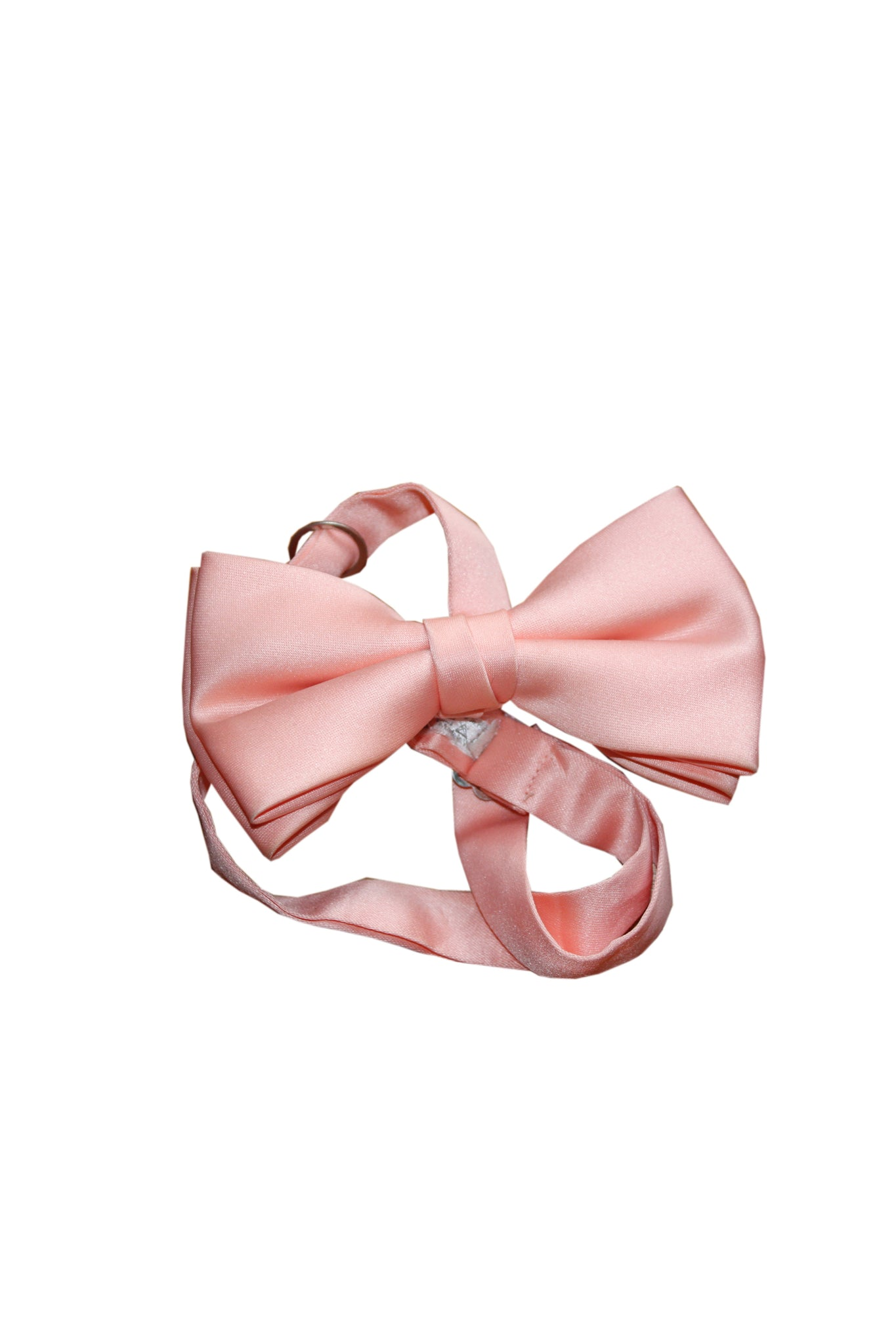 Vintage pink bow tie - SoLovesvintage