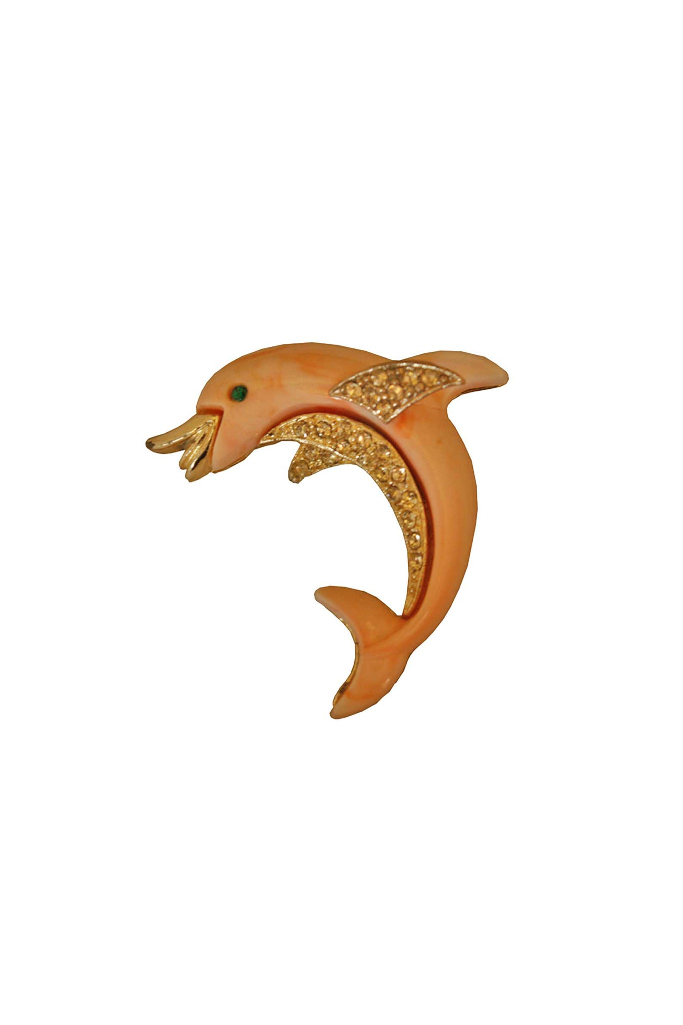 Vintage dolphin brooch - SoLovesVintage