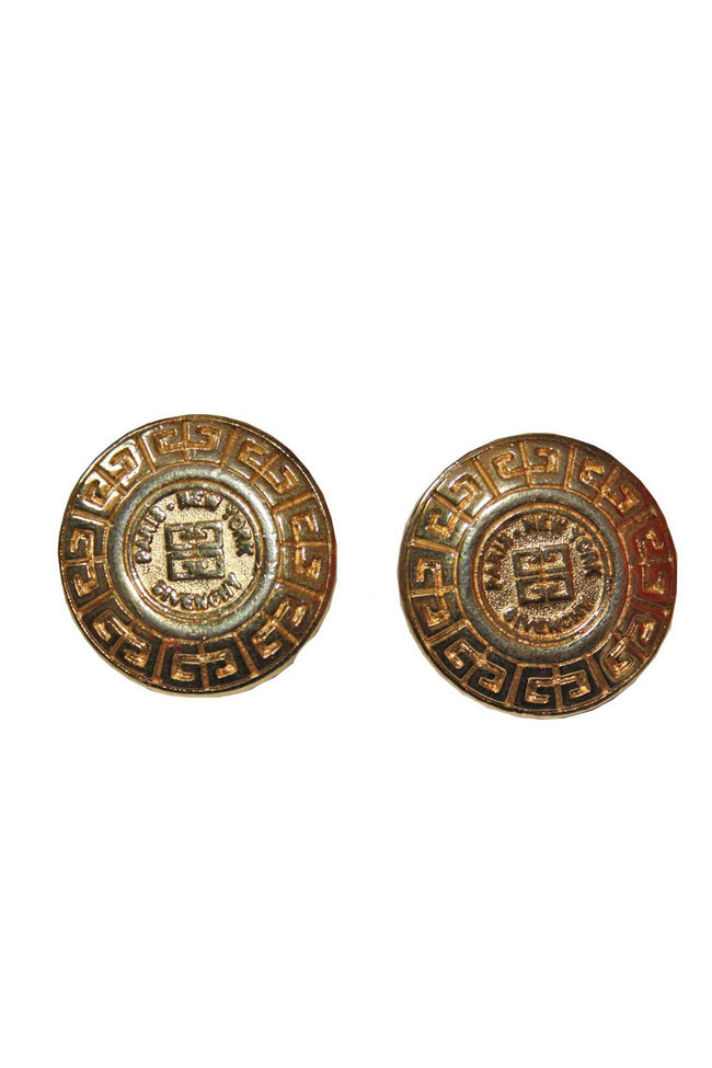 Vintage Givenchy designer earrings