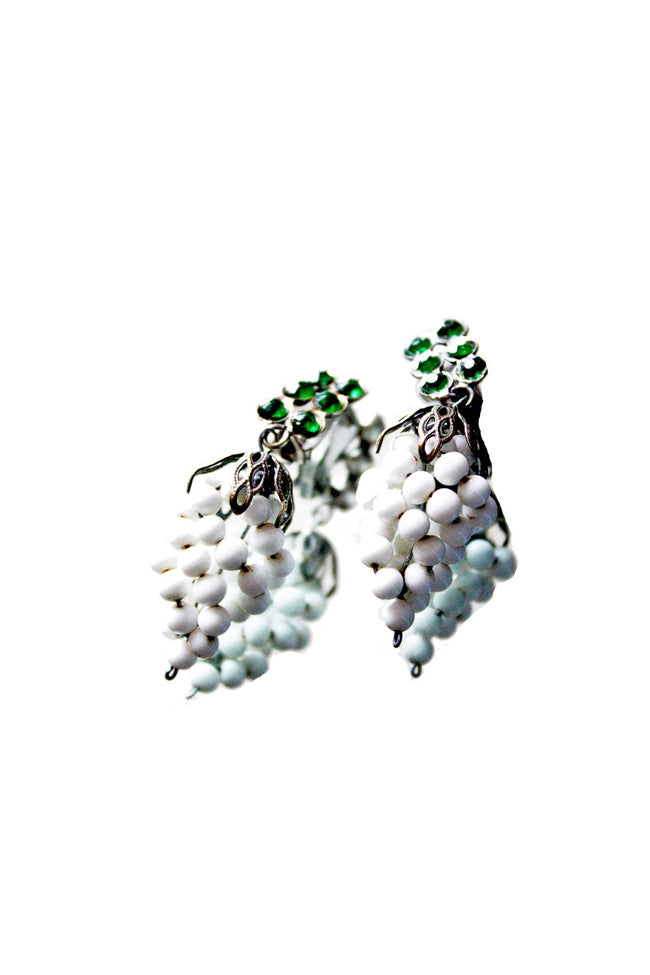 Vintage grape earrings