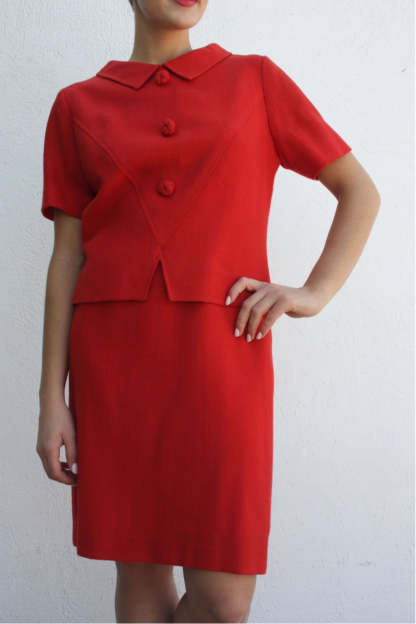 Vintage 50's vintage red suit - Shop SoLovesVintage