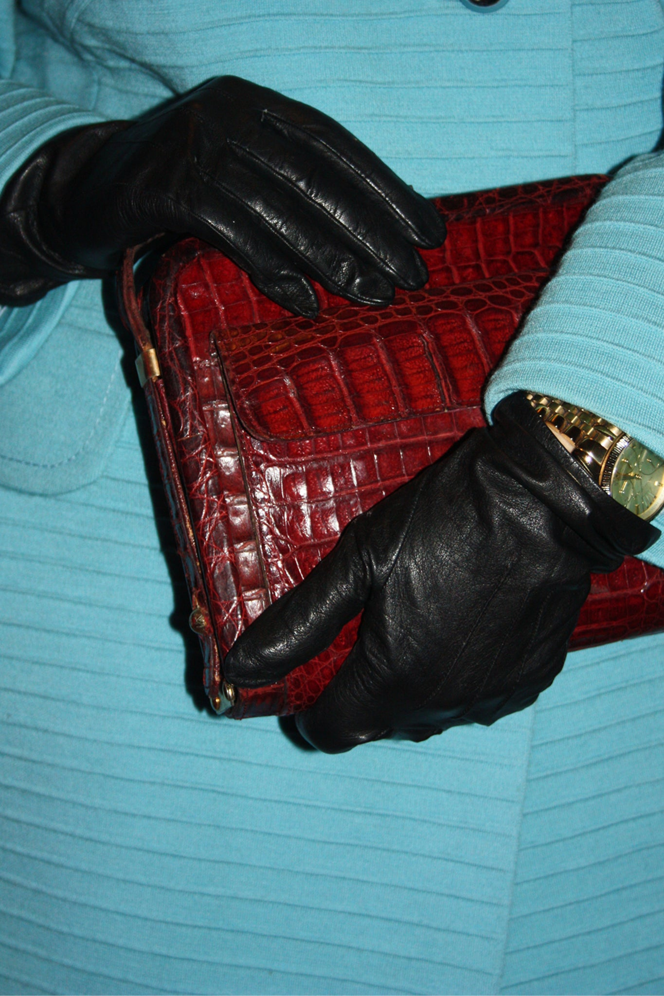 Lois leather gloves