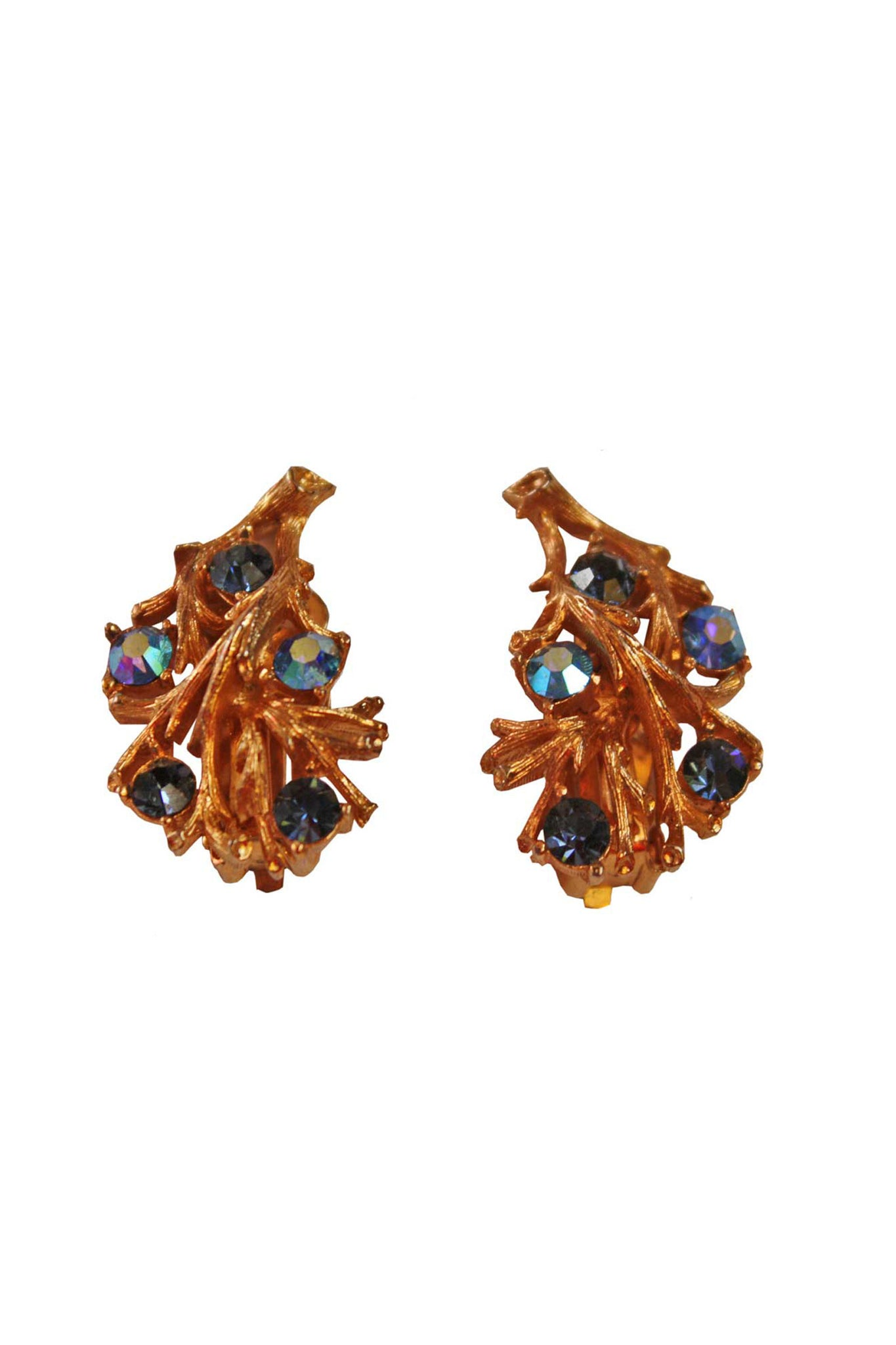 Lisner clip on earrings