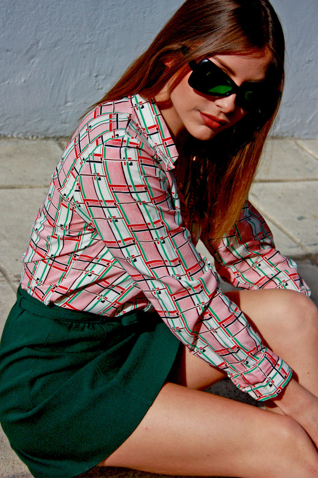 70's style shirt - SoLovesVintage