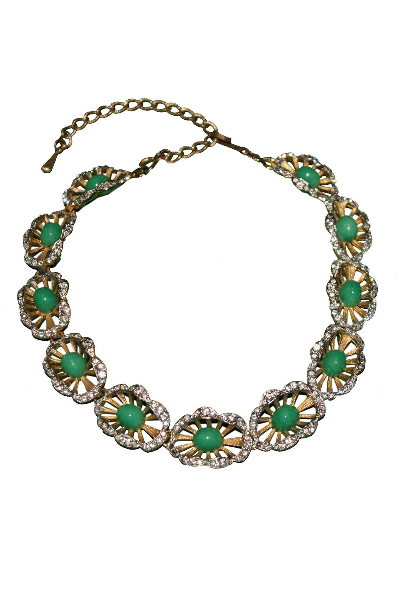 Vintage 40's necklace - SoLovesVintage