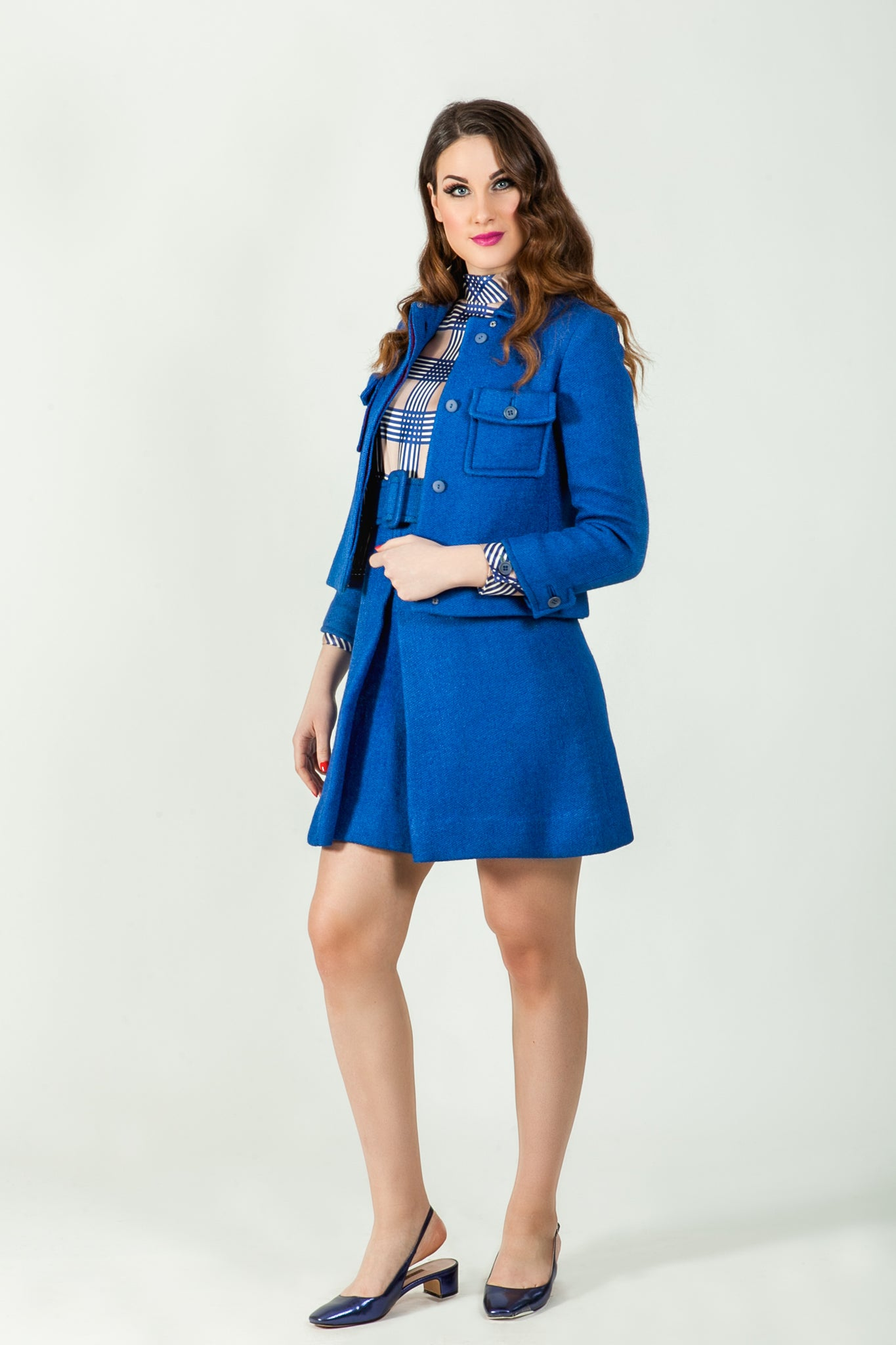 Verity wool suit