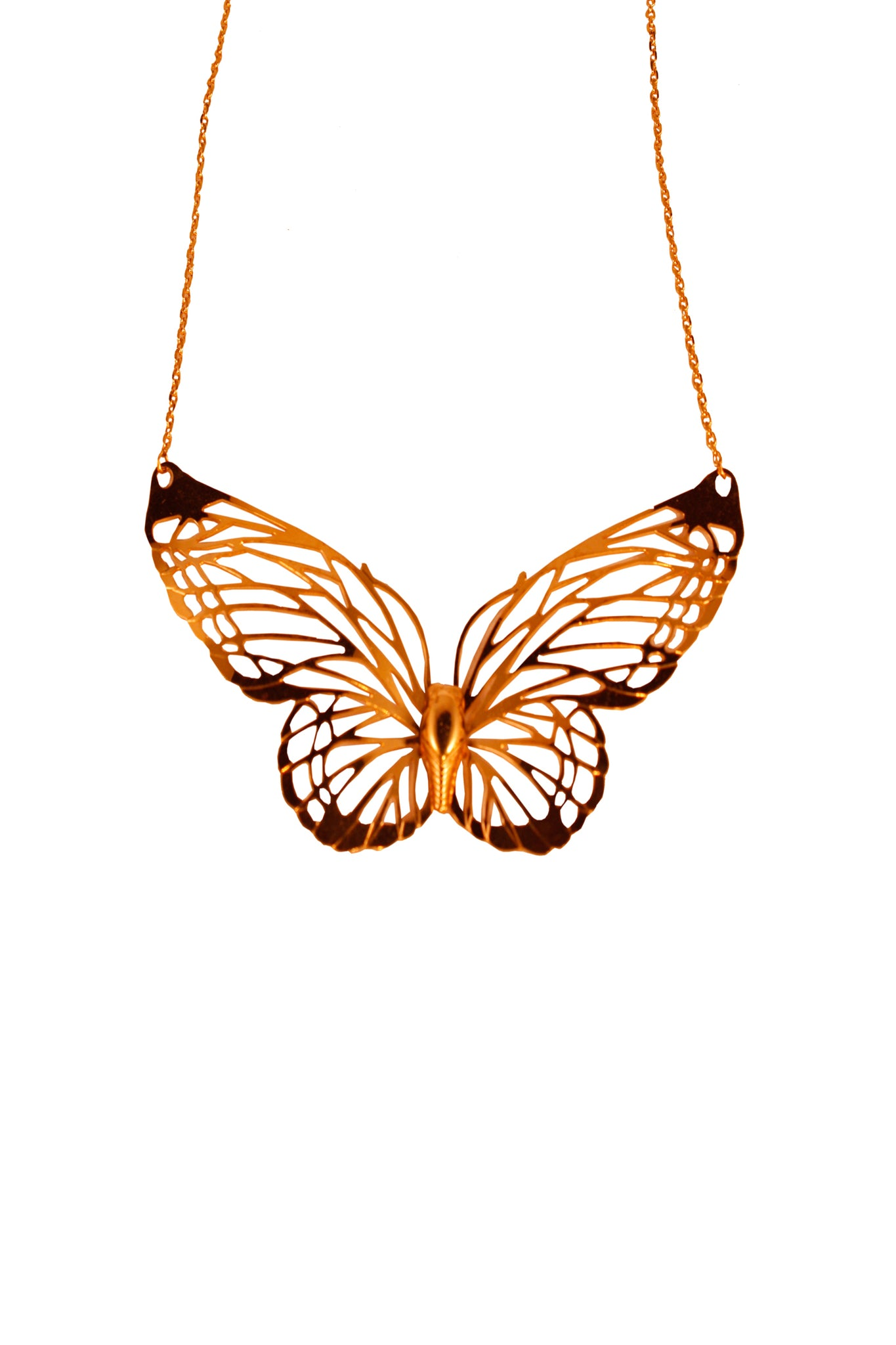 Vintage Butterfly Trifari necklace