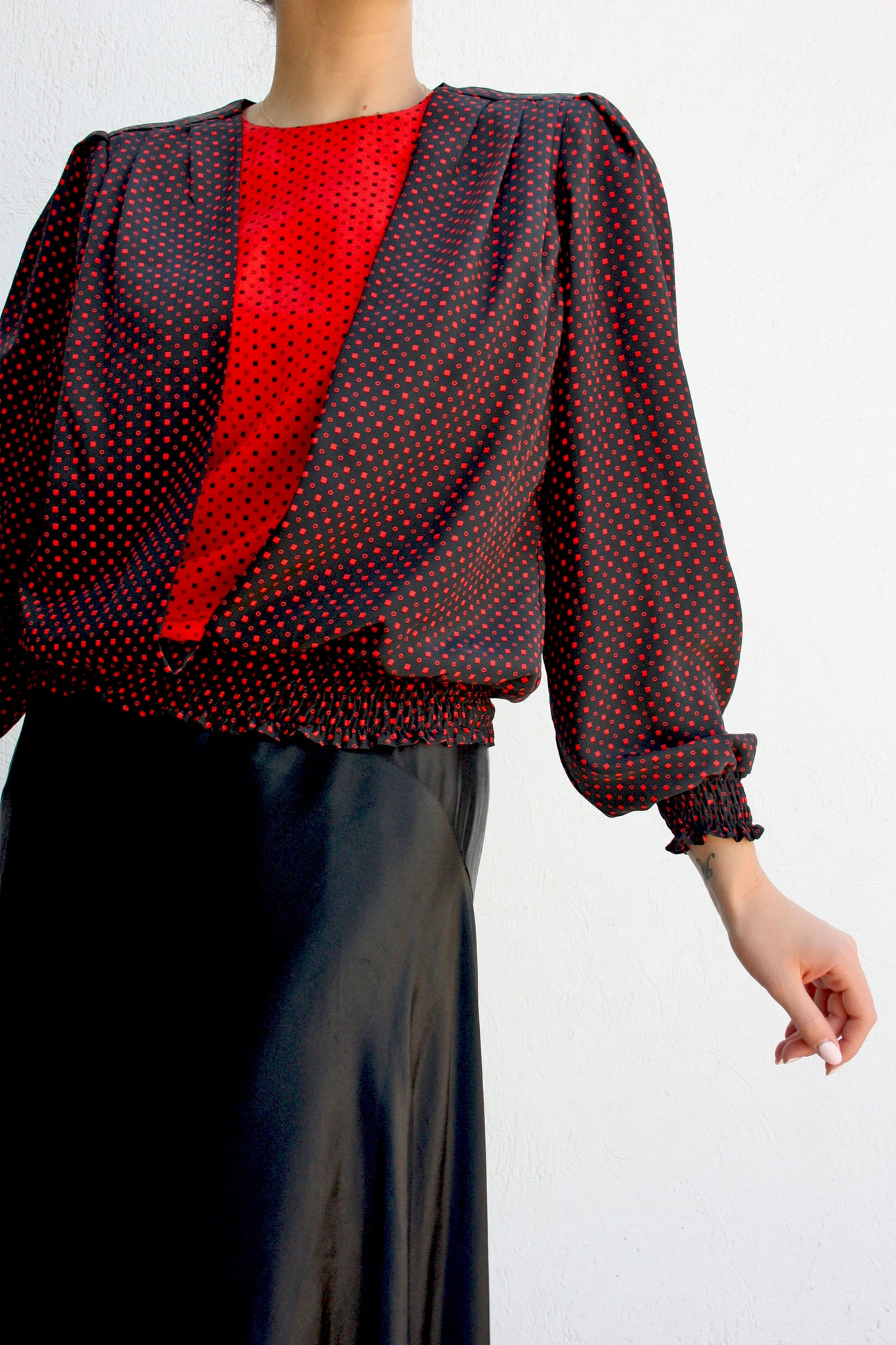 80's fashion vintage blouse - Shop SoLovesVintage