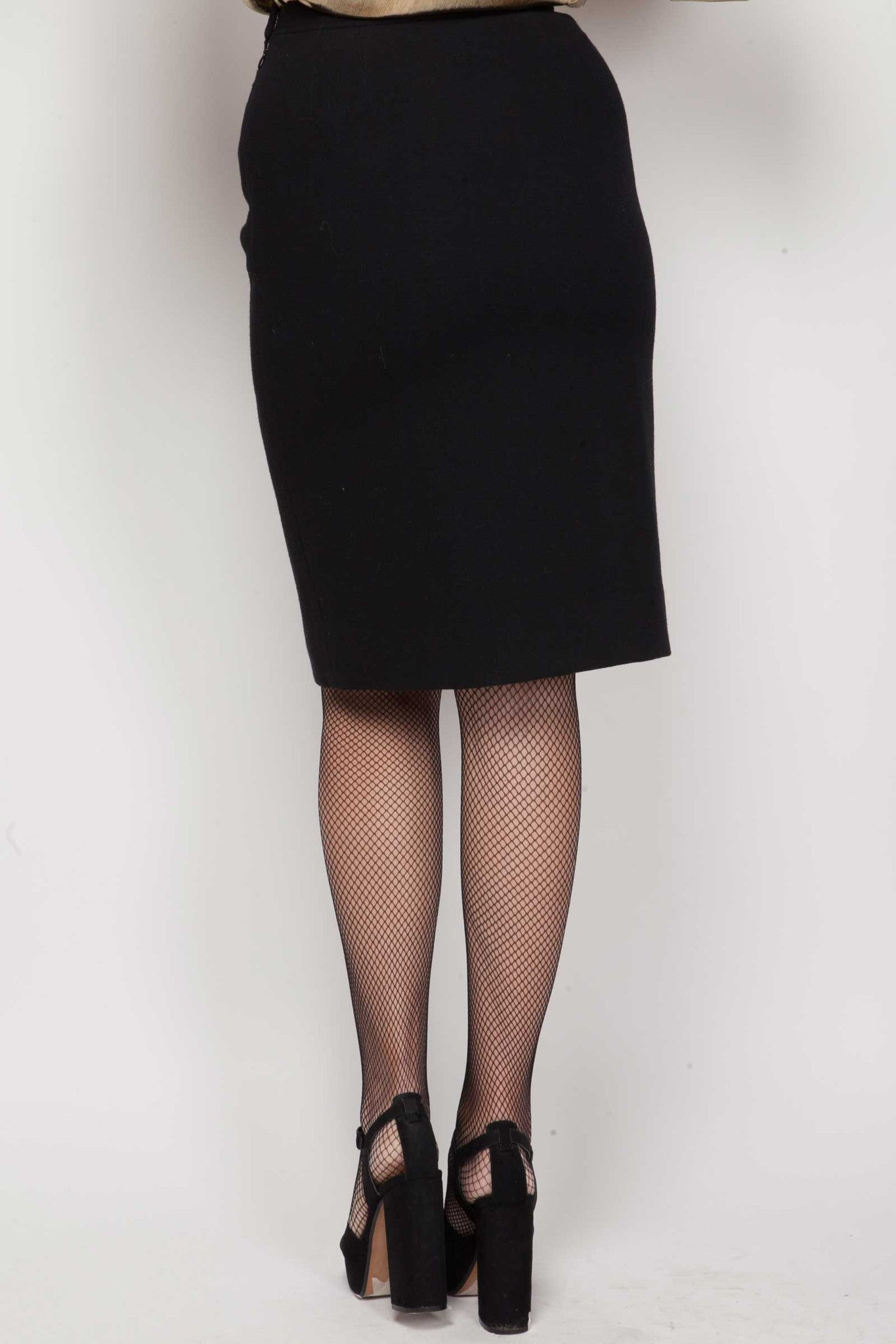 Reilly wool skirt