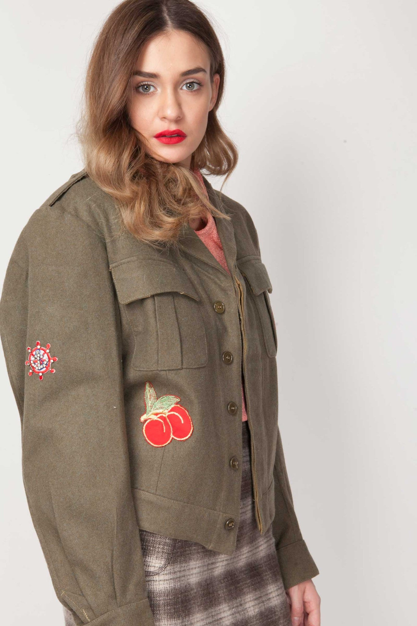 Vintage Rahele military jacket