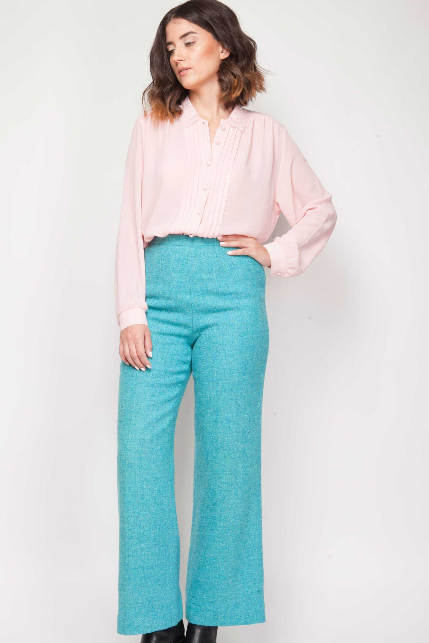 Leandra trousers - www.solovesvintage.com