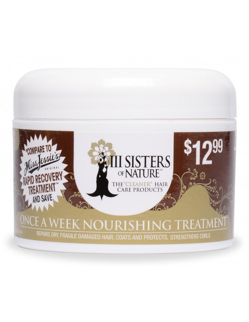 3 sisters of nature once a week nourishing treatment