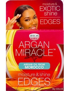 African Pride Argan Miracle Edges