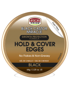 African Pride Black Castor Edge Gel