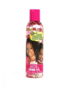 African Pride Dream Kids Olive Miracle Soothe Restore Shine Oil