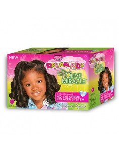 African Pride Dream Kids Olive Relaxer Kit Regular