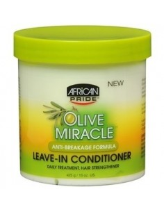 African Pride Olive Miracle Leave-in Conditioner Creme