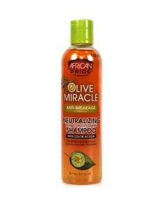 African Pride Olive Miracle Neutralizing Deep Conditioning Shampoo