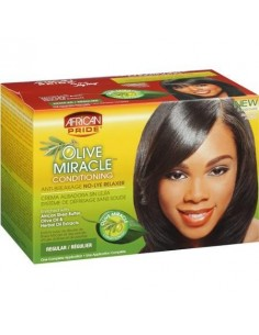 African Pride Olive Miracle Relaxer Kit Regular