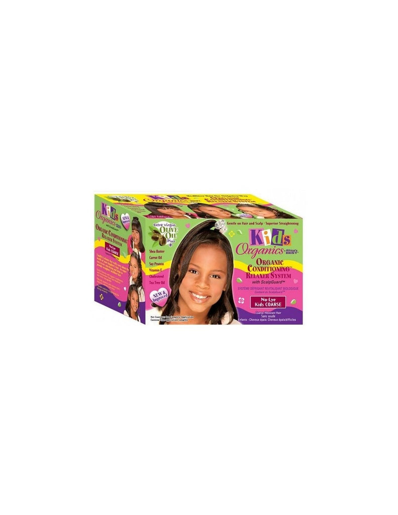 africas best kids organics no lye relaxer system kit super