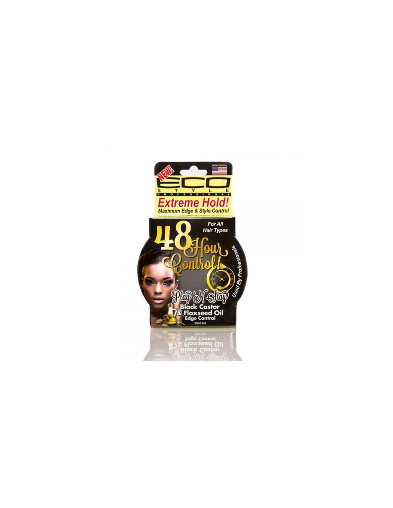 ecoco eco play n stay edge style black castor flaxseed oil