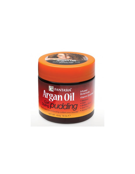 argan oil curl styling pudding 450 gram