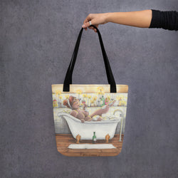 Tote bag: Bathroomdream