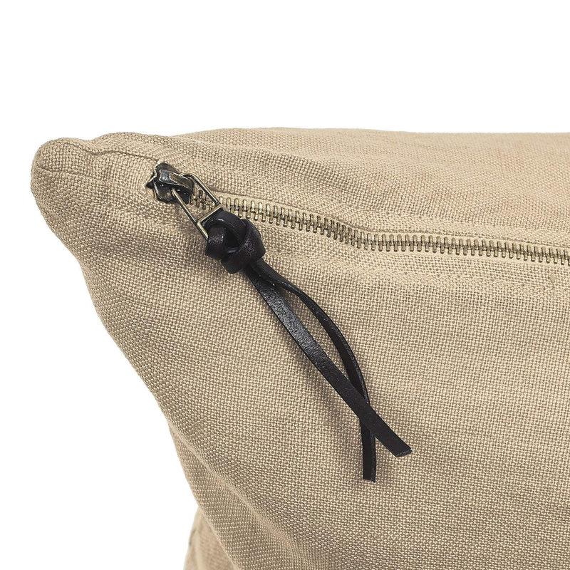 Cushion Cover · Pure Washed Linen · Sand