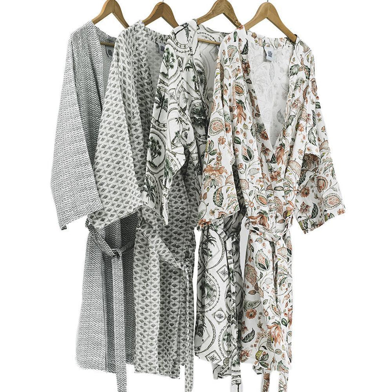 Dressing Gown · Pure Washed Linen