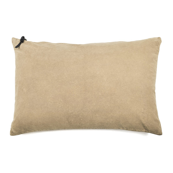 Cushion Cover · Washed Velvet · Sand