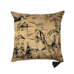 Cushion Cover · Pure Washed Linen · Mustang