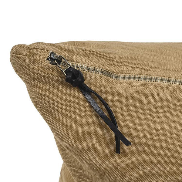 Cushion Cover · Pure Washed Linen · Ocher