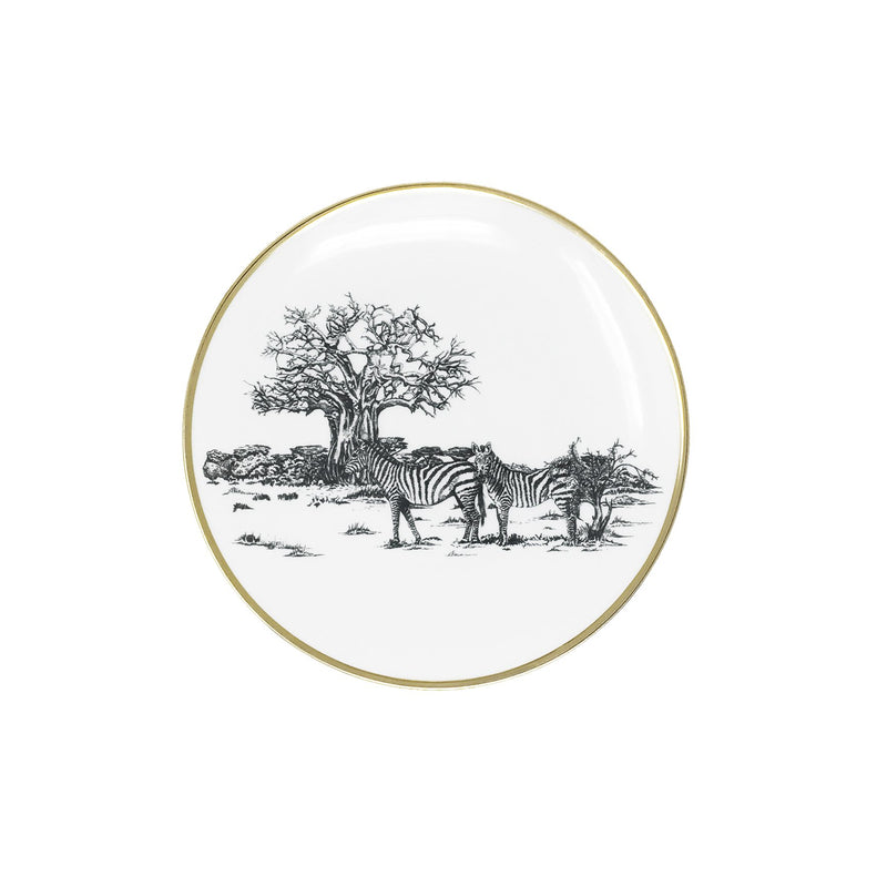 Side Plate · Limoges Porcelain · Shamba