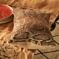 Cushion Cover · Snake