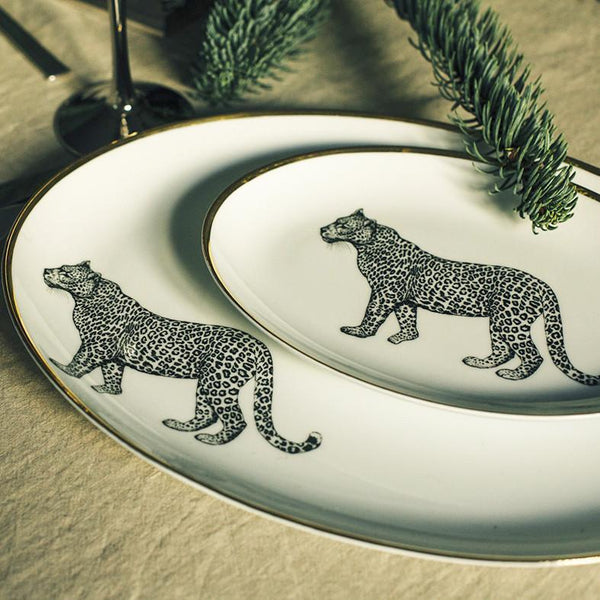 Oval Side Plate · Limoges Porcelain