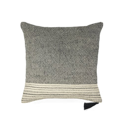 Cushion Cover 50X50 · Pure Washed Linen · Rustic Stripes