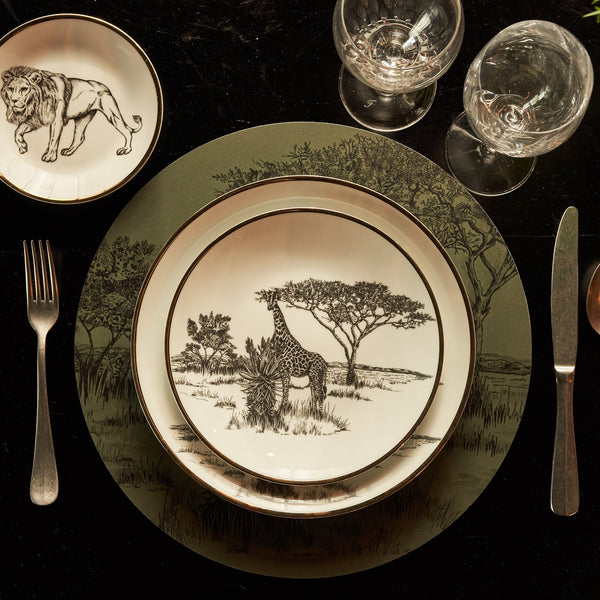 Dinner Plate · Limoges Porcelain · Shamba