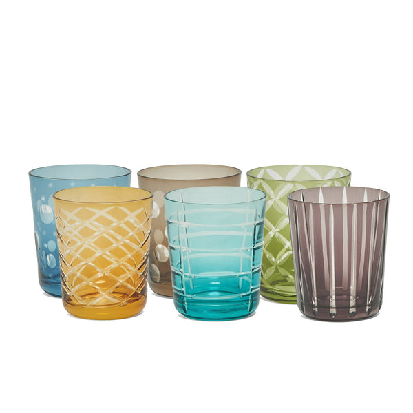 Glass · Set of 6