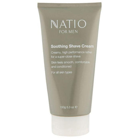 Natio For Men Soothing Shave Cream 150g