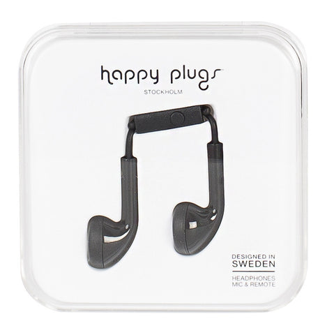 Happy Plugs Black