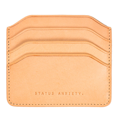 Status Anxiety Card Holder Tan