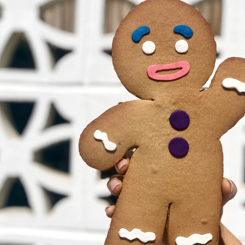 Oversized Gingerbread Man