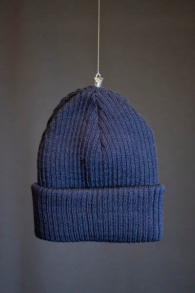 Cousteau beanie navy blue