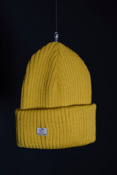 Cousteau beanie yellow