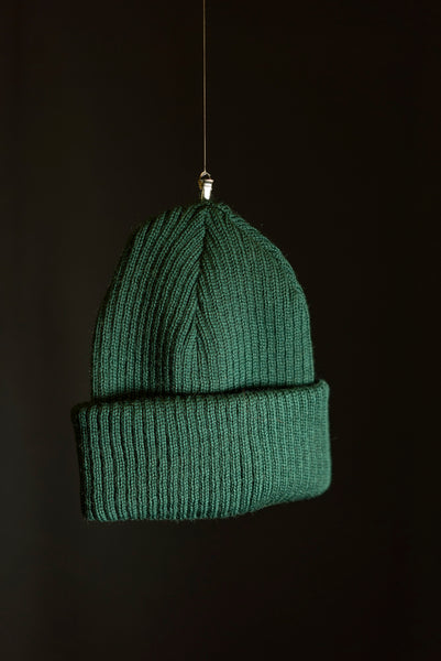 Cousteau beanie forest green